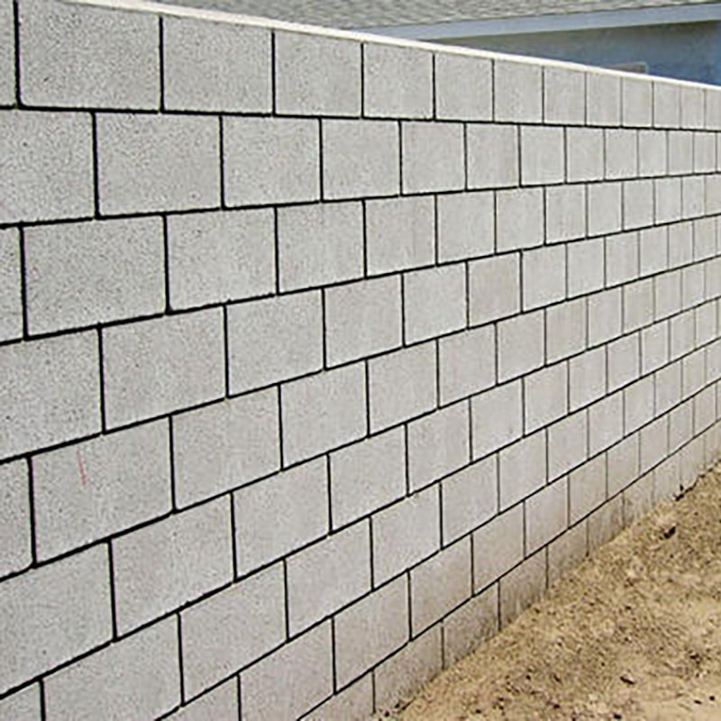 hollow block compound wall