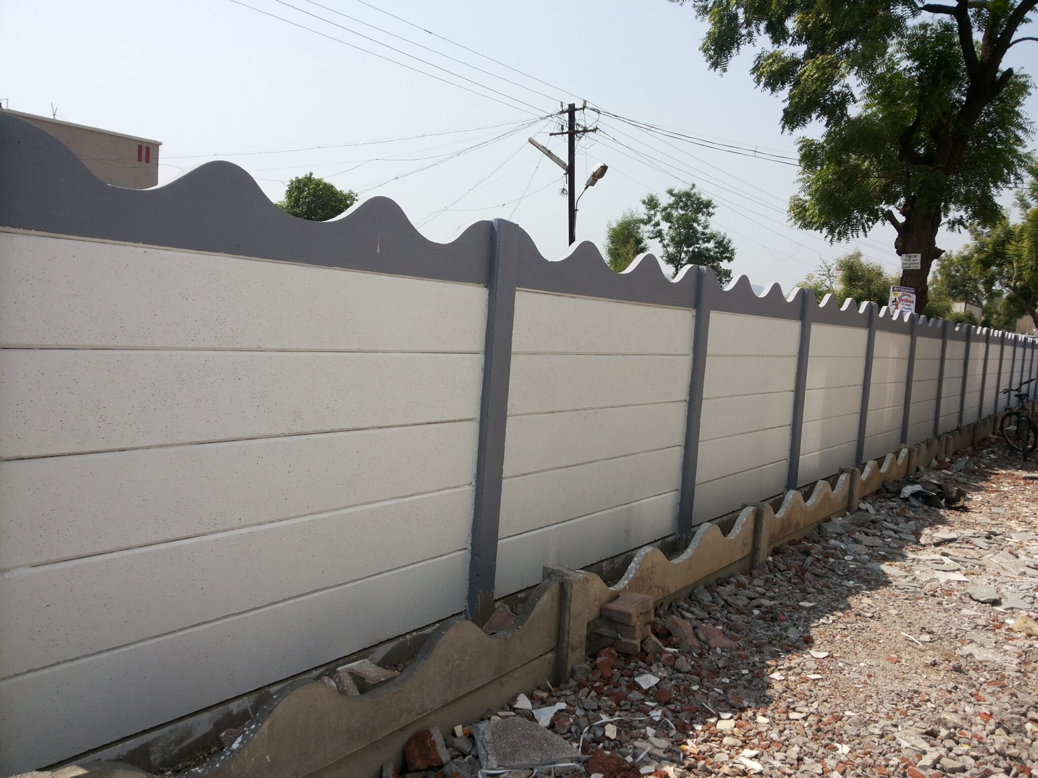 readymade-compound-wall
