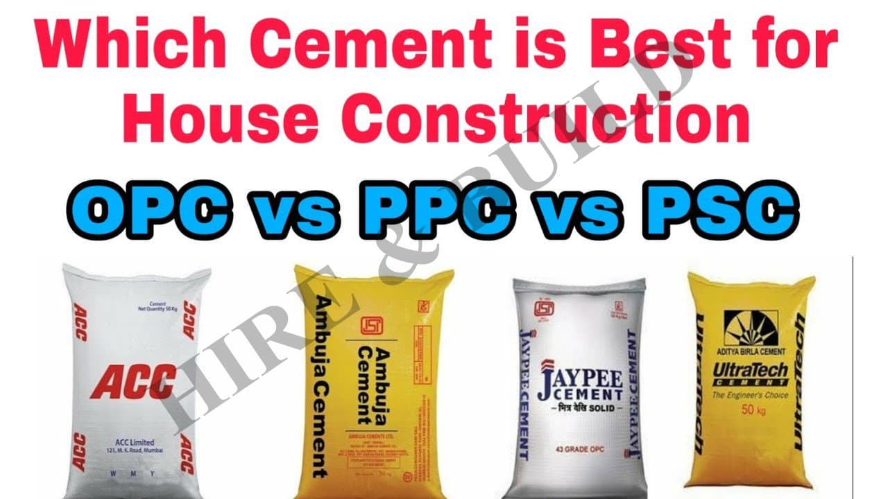 opc vs ppc vs psc best cement
