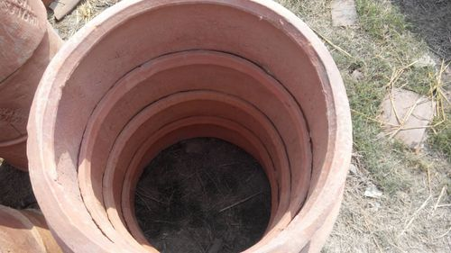 Water recycling septic tank rings