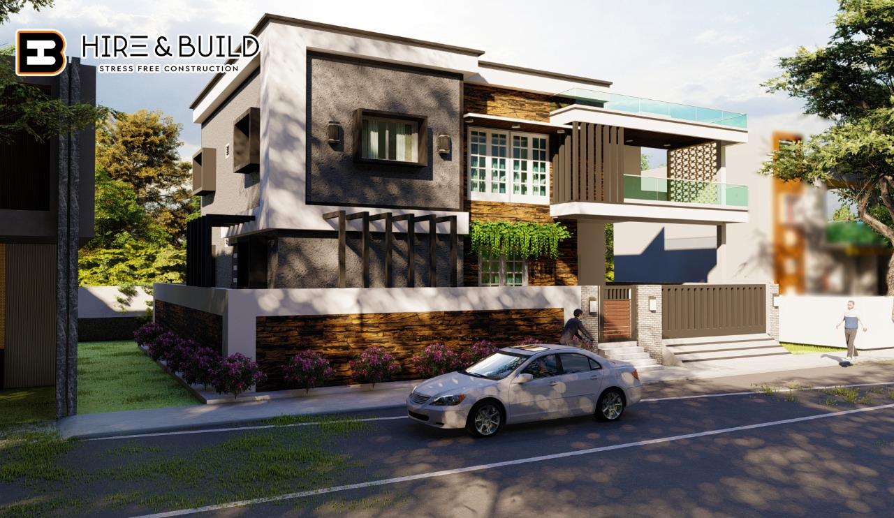 Luxurious house plan-elevation