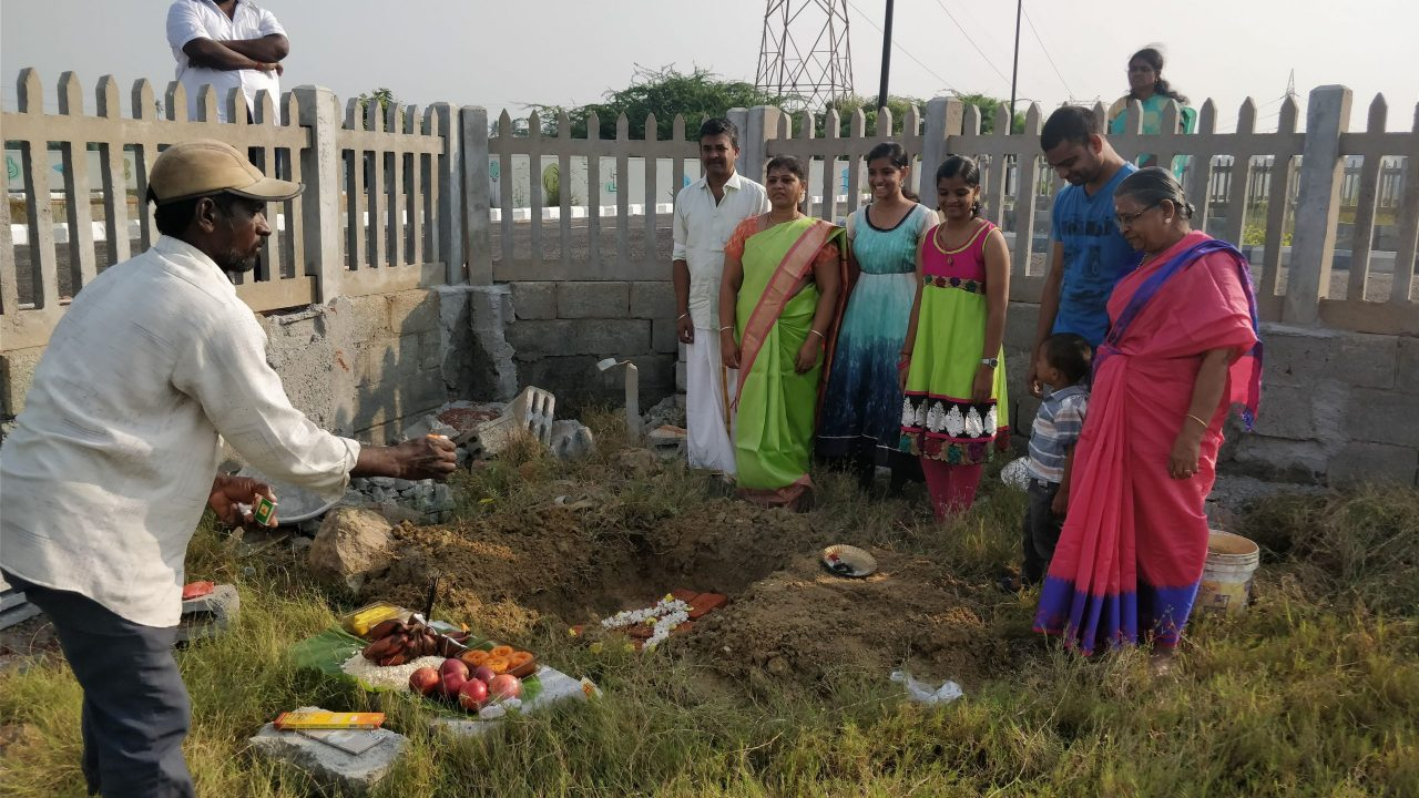 ground breaking pooja