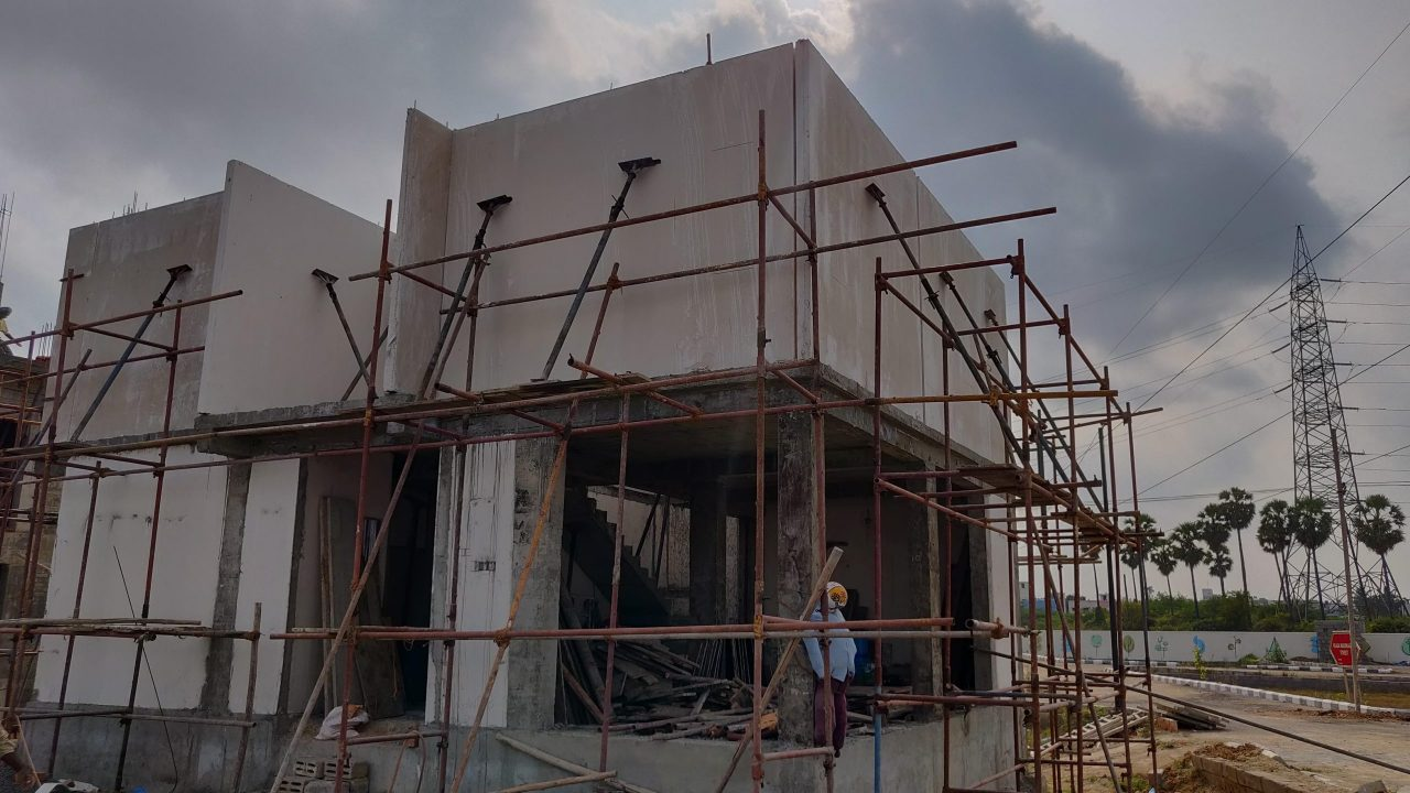 gfrg building construction in chennai