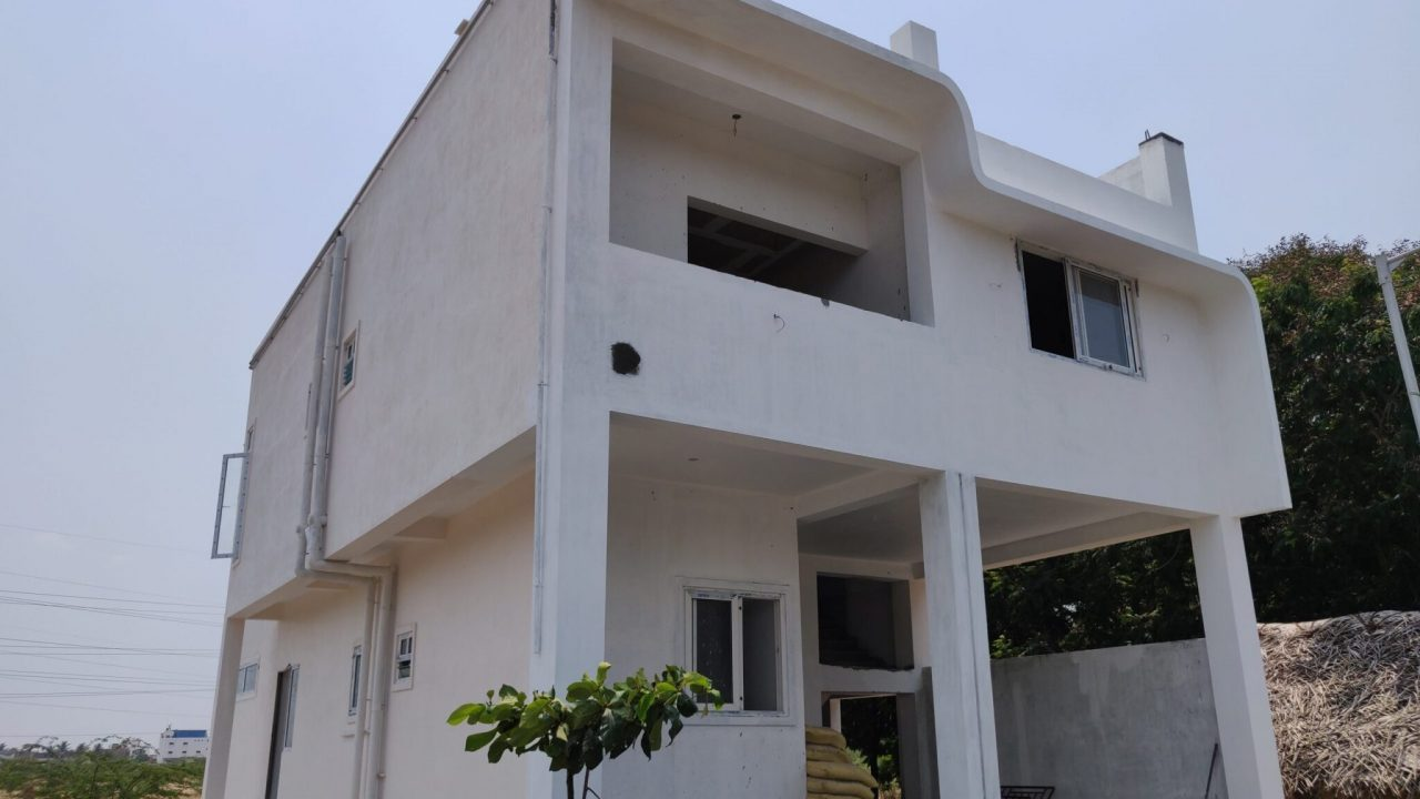 aac block house front